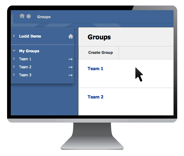 learning management system groups